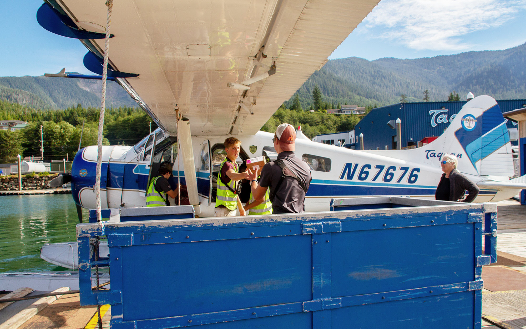 Flightseeing tours & scheduled flights in Ketchikan and Alaska's